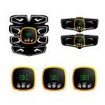 Оригинал KALOAD LCD Дисплей USB зарядка для мышц живота ABS Стимулятор для коррекции фигуры