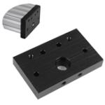 Оригинал Алюминиевая торцевая опора Openbuilds C-Beam Пластина Болт Концевое крепление Пластина для 3D-принтера CNC