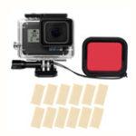 Оригинал Sheingka На открытом воздухе Водонепроницаемы Shell Защитный Чехол С фильтром для GOPRO HERO 5/6/7 FPV Action камера