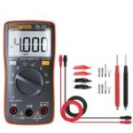 Оригинал ANENG AN8000 Orange Digital Мультиметр Вольтметр Амперметр Омметр Вольт AC DC Ом Тестер Метр + Набор измерительных проводов