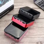 Оригинал 20000mAh Dual USB Мини Пауэр Банк 2.1A Быстрое внешнее зарядное устройство Батарея