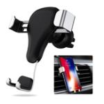 Оригинал LicheersАвтоAirVentGravityLinkage Auto Замок Авто Держатель телефона для 4.0 дюймов – 6.0 дюймов Смартфон iPhone Samsung Xiaomi