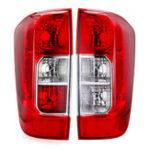 Оригинал Задний задний фонарь красного цвета без лампочек Провод слева / справа для Nissan Navara NP300 2015-2019 Frontier 2014