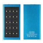 Оригинал Ультратонкое Солнечная Powered Батарея Bank USB Солнечная Зарядное устройство 20000mAh Светодиодный Dual USB Зарядное устройство