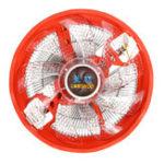 Оригинал 120-мм 3-контактный Светодиодный вентилятор охлаждения кулера для процессора Intel 775/1155 AMD AM2 / 3
