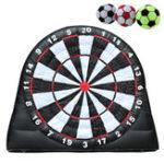 Оригинал 4M/13ftHighGiantGame Футбольные Мячи Надувные Дартс С 220 В Воздуходувки Игрушки