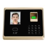 Оригинал ZOKOTECH ZK-TA50 Машина распознавания времени распознавания пароля с помощью отпечатка пальца лица 2.8 дюйма TFT Экран, регистрирующий регистратор