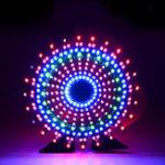 Оригинал Geekcreit® Колесо обозрения Модель Music Spectrum DIY Набор Электронный 51 Однокристальный Colorful LED Flash Набор