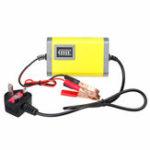 Оригинал 12V 2A Smart Батарея Зарядное устройство Intelligent Maintainer 3 Stage для Авто Лодка Транспортные средства Аккумуляторы Мотоциклы