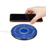 Оригинал Ультратонкий Волшебный 10 Вт Qi Беспроводное зарядное устройство Беспроводная быстрая зарядка телефона Держатель для Samsung Galaxy S10 Plus iPhone XS Ма