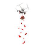 Оригинал RCGEEK Air Thrower Рыбалка Свадебное Кольцо Система доставки подарков для DJI Phantom 4 серии RC Дрон