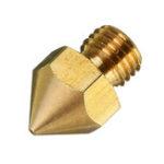 Оригинал 100 шт. Creality 3D® 0,4 мм Медь M6 Резьбовое сопло для CR-10S PRO 3D-принтера