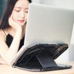 Оригинал Универсальный регулируемый ноутбук Stand Holder с поворотной подставкой + держатель для телефона для ноутбука Notebook Under 17 дюймов