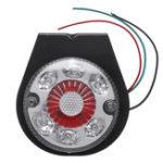 Оригинал 12 В 24 В 10 LED Индикатор Стоп Задний Железный Кронштейн Задние Фонари Для Лодка Авто Грузовой Прицеп