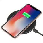 Оригинал 10W Qi Беспроводное зарядное устройство Беспроводная быстрая зарядка телефона Держатель для Samsung Galaxy S10 Plus iPhone XS Макс. Huawei P30 Pro Устройства с по