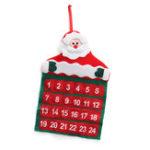 Оригинал ВойлочныйРождественскийАдвентНастенныеКарманыдля Календарей Санта-оленей Снеговик Украшения