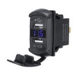 Оригинал Зарядное устройство USB для Polaris UTV RZR RZR4 Ranger XP 1000 900 800 Crew 2015 2016