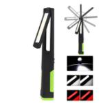 Оригинал XANESU315режимоввращенияна 360 ° USB перезаряжаемый COB + светодиодный фонарик Dual Рабочийсвет с фонариком