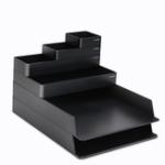 Оригинал NUSIGN NSYP001 Desktop Storage Коробка Набор Office Desktop Органайзер Школа Расходные материалы Хранение Косметика Держатель Кухонный лоток