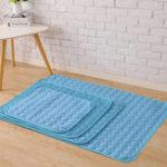 Оригинал Охлаждающий коврик для домашних животных Нетоксичный Прохладный Коврик для охлаждающей подставки Кровать для летних собак Подушка для ко