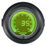 Оригинал 7 Цвет 2 дюйма 52 мм Цифровой LED Turbo Boost Вакуумметр 35 фунтов на квадратный дюйм