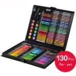 Оригинал KIDDYCOLOR 130 Практическая акварельная краска Crayon Art Suit для Школа