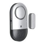 Оригинал Ультратонкий алюминиевый дверной сигнал тревоги Магнитный индикатор низкого напряжения Клин Оповещение