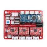 Оригинал Оригинал 2417 ЧПУ 3-осевой Пульт Управления GRBL USB Stepper Мотор Драйвер DIY Лазер Гравер Фрезерный Гравировальный Станок Контроллер