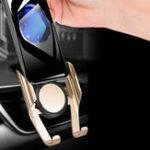 Оригинал GravityLinkageAutomaticЗамокAirVent Авто Крепление Авто Держатель для телефона на 4,7 дюймов – 7,5 дюймов Смартфон iPhone Samsung Xiaomi