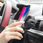 Оригинал Hoco 2 в 1 Авто Приборная панель Air Vent Автоиндукция Авто Держатель телефона для смартфона GPS iPhone Samsung Xiaomi Huawei