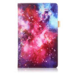 Оригинал Фолио Стенд для печати планшета Чехол Чехол для планшета Samsung Galaxy Tab A 10.5 T590 T595 T597 – Млечный путь