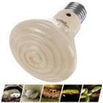 Оригинал E27 50 Вт 75 Вт 100 Вт 150 Вт Керамический Инфракрасный Рептильный Излучатель Нагреватель Лампа Pet Лампа для Черепахи AC220-240V