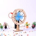 Оригинал Crabkingdom Landing Small Fan Science DIY Творческий набор аксессуаров для игрушек