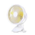 Оригинал Well Star WT-F15 Портативный вентилятор с клипсой вращения на 360 градусов USB Мини-вентилятор с полосой Аккумуляторный вентилятор с воздушным охла