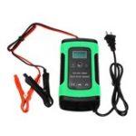 Оригинал iMars ™ Green 12V 6A Pulse Repair LCD Батарея Зарядное устройство для свинца Авто мотоцикл Батарея Agm Гель Wet