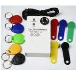 Оригинал TM RFID Reader Копир Дубликатор ручной RW1990 TM1990 TM1990B Ibutton DS-1990A I-Button 125 кГц EM4305 T5577 EM4100 TM Считыватель карт