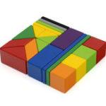 Оригинал XIAOMI MITU 20 ШТ. Магнитные Деревянные Блоки Игрушки Головоломки Головоломки Дети Развивающие Подарок