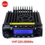 Оригинал RetevisРТ-9000DMobilesАвтоРадиоЦифровой 60 Вт, ОВЧ 220-260 МГц, Walkie Talkie MIC