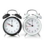 Оригинал Digital Alarm Clock Double Bell Metal Table Clock Bedside Alarm Clocks Dual Bells With Night Light