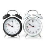 Оригинал Digital Alarm Clock Double Bell Metal Table Clock Bedside Alarm Clocks Dual Bells With Night Light