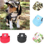 Оригинал SummerPetСобакаСимпатичнаябейсболкас принтом Шапка Маленькая Собака На открытом воздухе Шапка Бейсболка Уход за домашними животными С