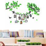 Оригинал 3D Акриловая Наклейка На Стену Дерево Фоторамка Гостиная Home Decor
