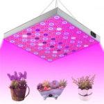Оригинал 45W 144 LED Растение Grow Light Лампа Полный спектр для цветочных семян в теплице в помещении