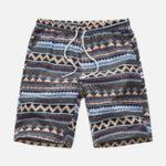 Оригинал Mens Summer Пляжный Гавайские повседневные шорты с цветочным принтом
