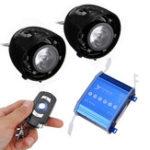 Оригинал Рожки динамика с подсветкой LED мотоцикл Сигнализация AUX Аудио MP3-плеер с функцией Bluetooth