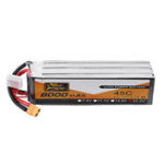 Оригинал ZOP Power 22.2V 8000mAh 45C 6S Lipo Батарея XT90 Разъем для FPV Racing Дрон