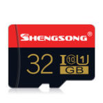 Оригинал Shengsong SS-BTF-02 Micro SD Card TF Карта памяти 32GB 64GB 128 ГБ