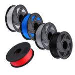 Оригинал BIQU серый / черный / белый / синий / красный 1 кг / рулон 1,75 мм PLA нить для принтера RepRap 3D