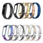 Оригинал Bakeey Colorful Часы из нержавеющей стали Стандарты Запасной ремешок для Xiaomi mi band 3