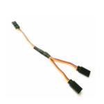 Оригинал URUAV 10cm 100mm 30 Core / 60 Core Dupont Y Cable Сервопривод Кабель для радиоуправляемых моделей